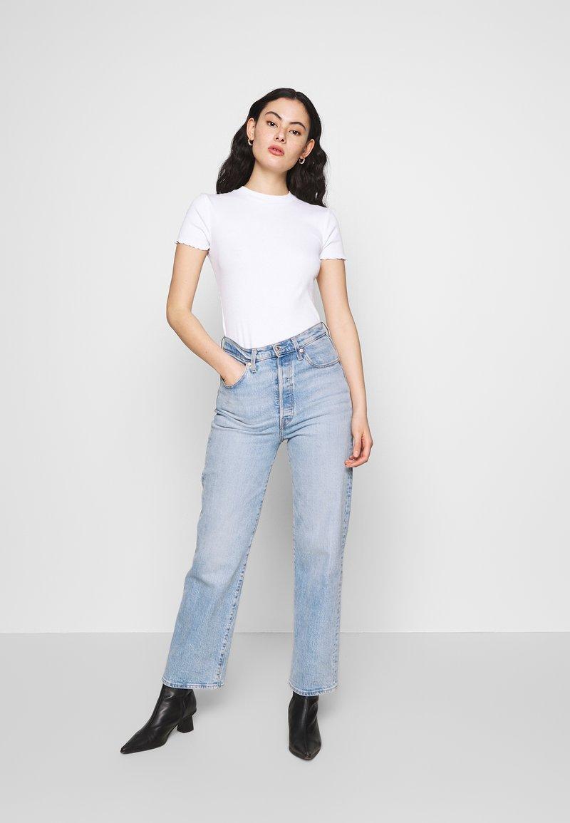 Even&Odd - 2 PACK - T-shirts - mottled grey/white