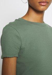 Even&Odd - 2 PACK - Basic T-shirt - khaki/rose - 4
