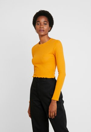 Long sleeved top - inca gold