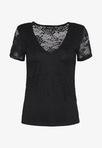 Even&Odd - T-shirt imprimé - black - 3