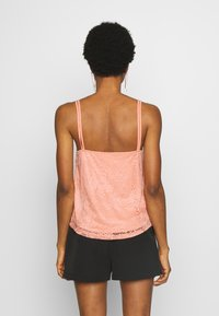 Even&Odd - Top - coral pink - 2