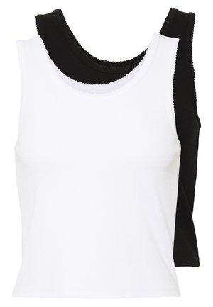 2 PACK - Linne -  black/ white
