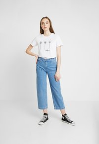 Even&Odd - T-shirt con stampa - white - 1
