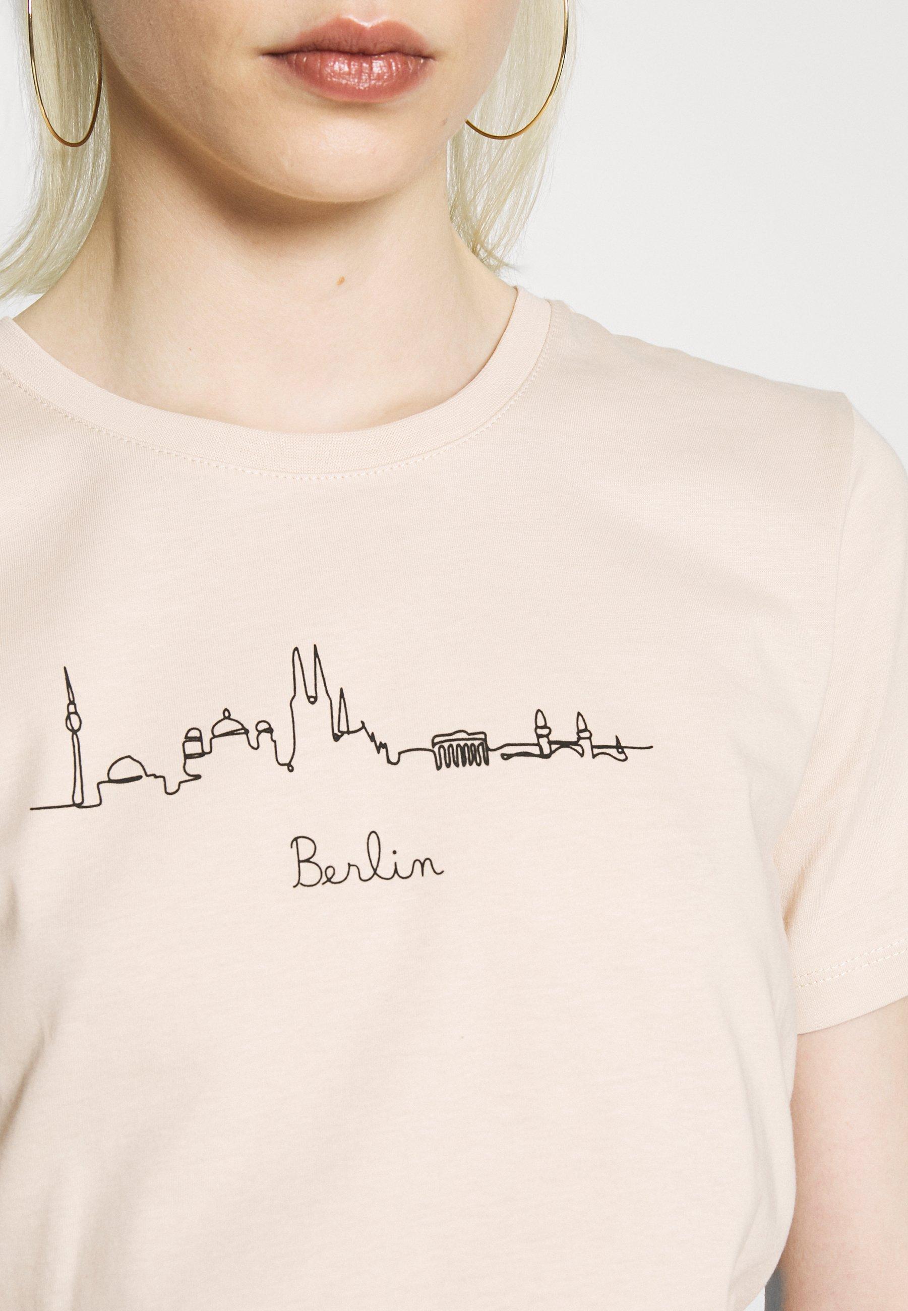 Even&odd T-shirts Print - Beige
