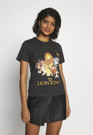 LION KING - Print T-shirt - anthracite
