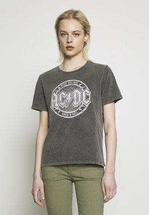 Camiseta estampada - anthracite