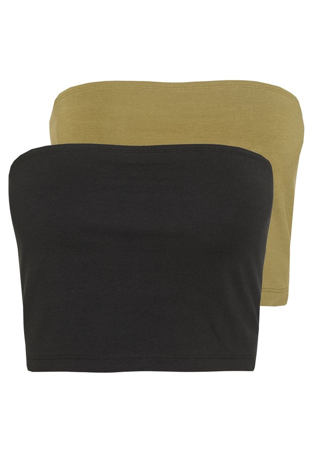 2 PACK - Toppi - khaki/black