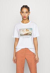 Even&Odd - T-shirts print - white - 0