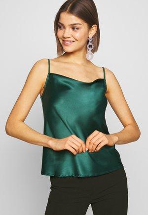 Topper - dark green
