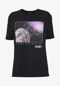 Even&Odd - T-Shirt print - black - 4