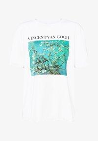Even&Odd - T-shirt print - white - 3