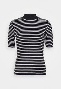 Even&Odd - Camiseta estampada - black/white - 3