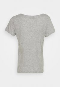 Even&Odd - 2 PACK - Basic T-shirt - black/light grey melange - 3