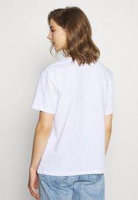Even&Odd - T-shirt con stampa - white - 5