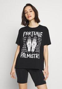 Even&Odd - T-Shirt print - black - 0