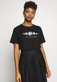 Even&Odd - T-Shirt print - black - 0