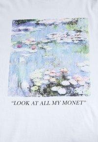 Even&Odd - T-shirts med print - white - 3