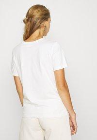 Even&Odd - Print T-shirt - snow white - 2
