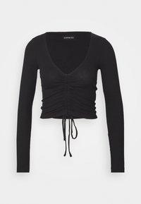Even&Odd - Long sleeved top - black - 3