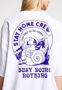 Even&Odd - T-shirt con stampa - white - 6
