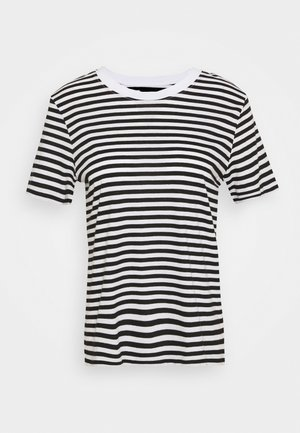 T-shirt imprimé - black/white