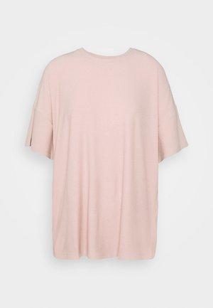 Basic T-shirt - pale mauve