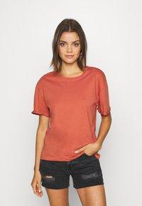 Even&Odd - Basic T-shirt - bruschetta - 0
