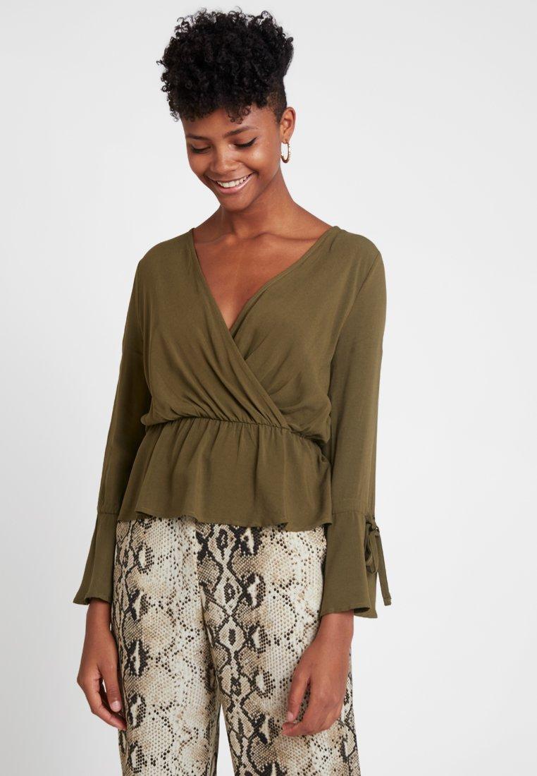 Even&Odd - Bluse - khaki