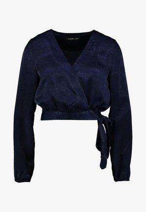 Bluse - dark blue