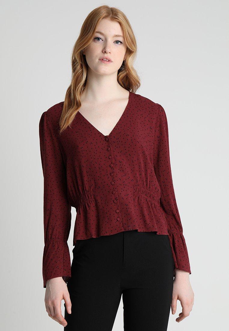 Even&Odd - Bluse - red/black