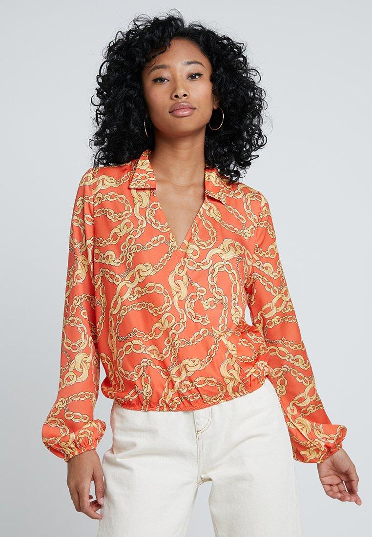 Even&Odd - Bluse - gold/orange