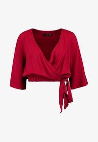 Even&Odd - Bluse - dark red - 3