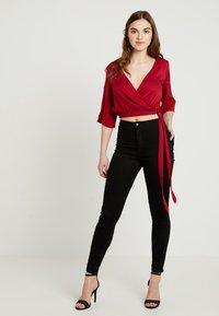 Even&Odd - Bluse - dark red - 1