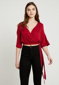 Even&Odd - Bluse - dark red - 0