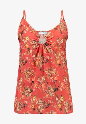 Blouse - red/yellow