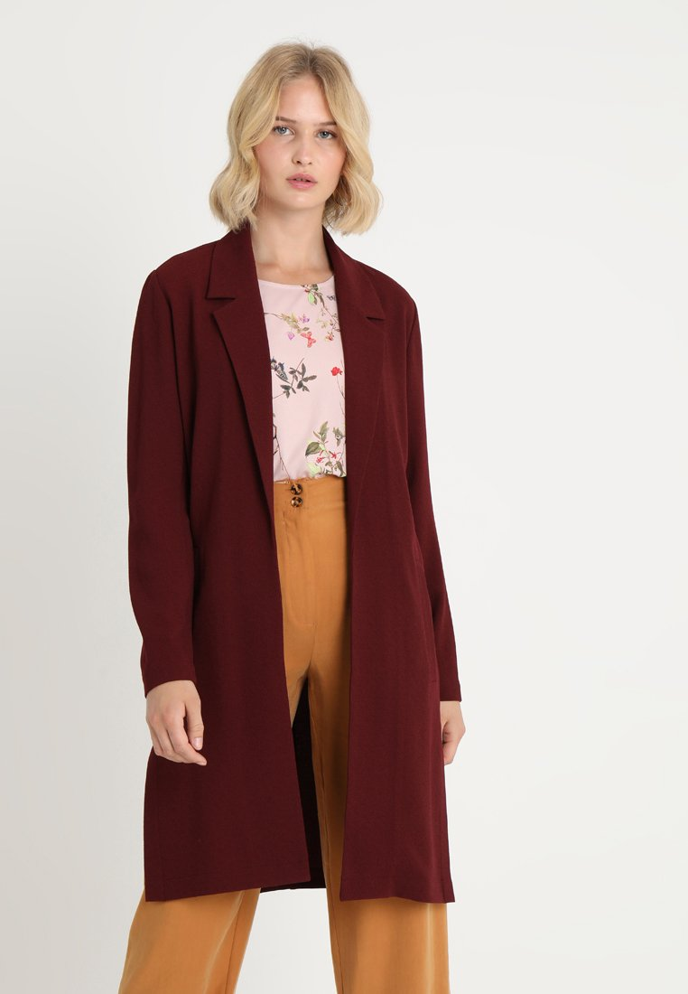 Even&Odd - Short coat - berry
