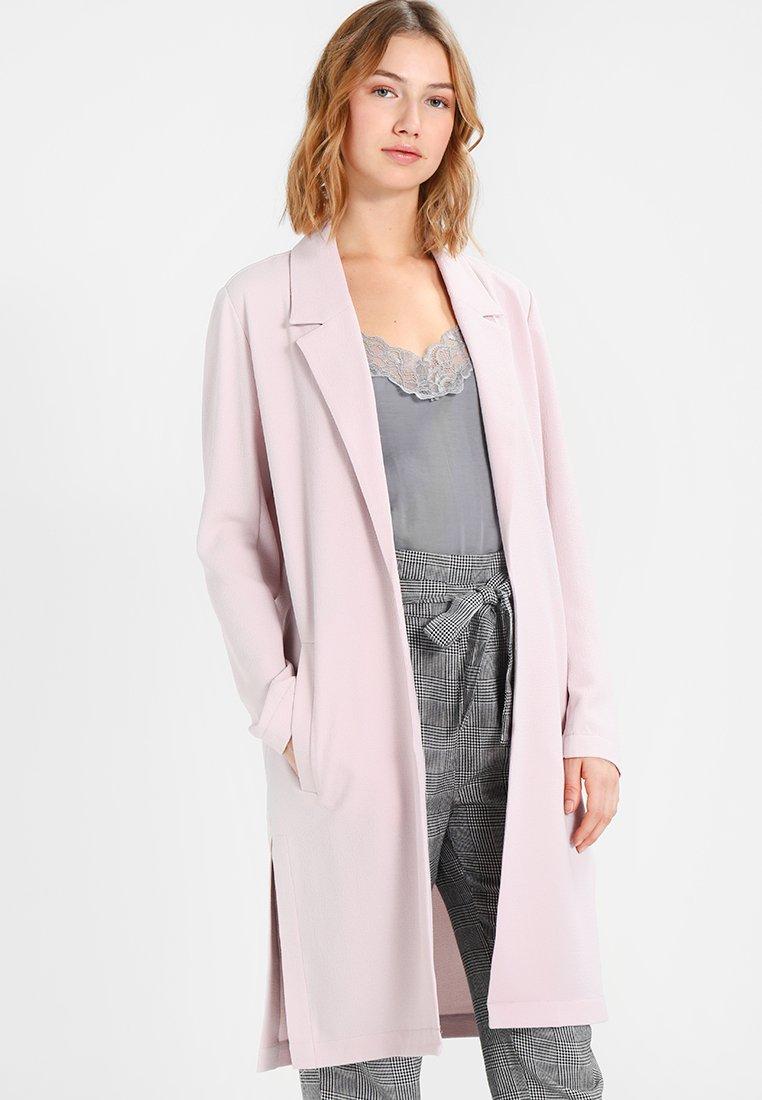 Even&Odd - Krótki płaszcz - rose