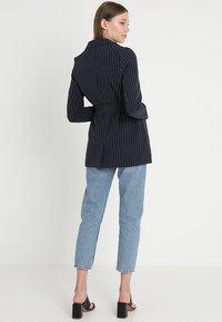 Even&Odd - Krátký kabát -  dark blue/ white - 2