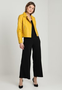 Even&Odd - Giacca in similpelle - yellow - 1