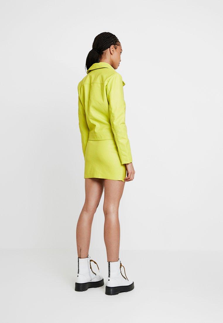 Even&Odd - Keinonahkatakki - neon green