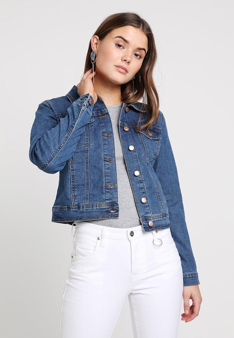 Even&Odd - Denim jacket - mid blue denim