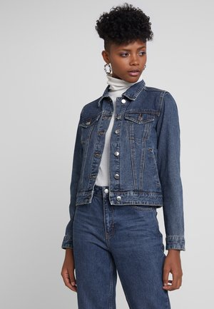 Jeansjakke - mid blue denim