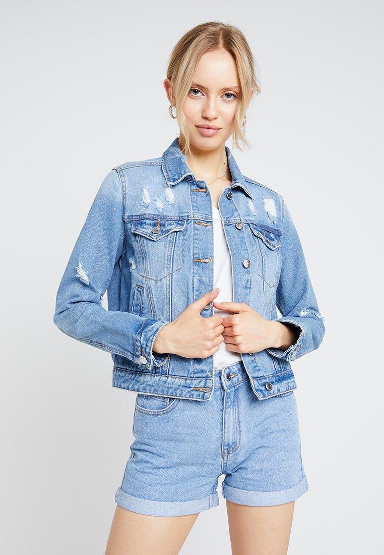 Even&Odd - Denim jacket - blue denim