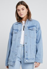 Even&Odd - Giacca di jeans - light blue - 0
