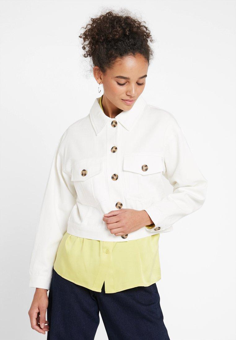 Even&Odd - Denim jacket - white
