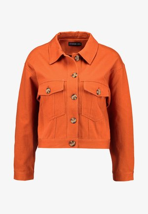 Denim jacket -  brown
