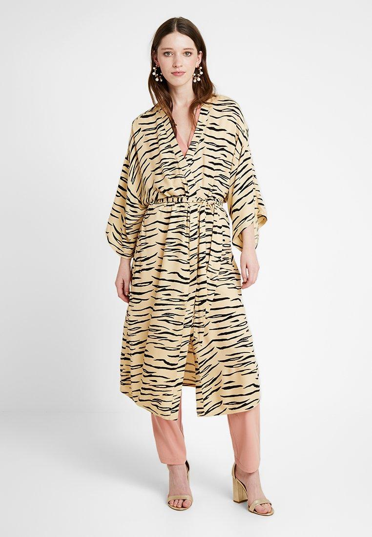 Even&Odd - Summer jacket - camel/black