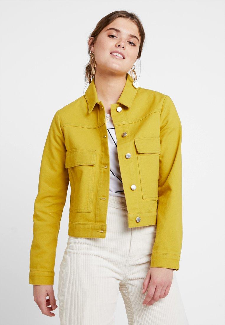 Even&Odd - Denim jacket - lime