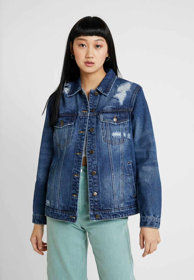 Even&Odd - Denim jacket - dark blue