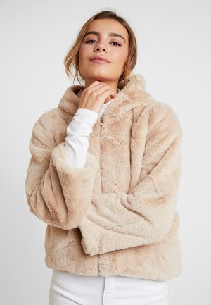 Bomberjacke - light beige